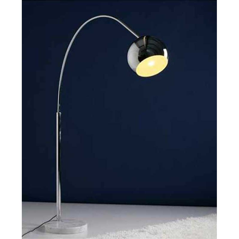 Extrêmement Lampadaire Arc Small Chrome FT58