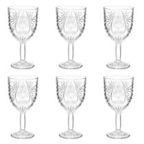 "Lot de 6 Verres à Vin ""Ayla"" 29cl Transparent"