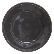 "Lot de 6 Assiettes Plates ""Gypsy"" 27cm Gris"