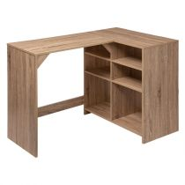 "Bureau d'Angle Réversible ""Mix N Modul"" 110cm Naturel"