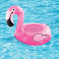 "Enceinte Sans Fil Waterproof ""Flamant"" 22cm Rose"