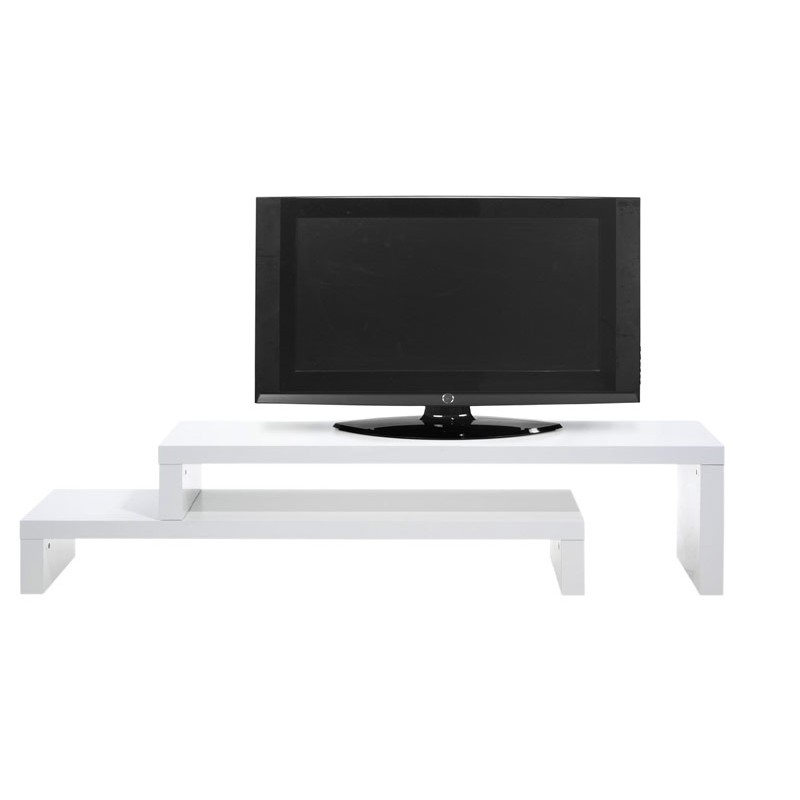 temahome meuble tv cliff 120cm blanc mat. Black Bedroom Furniture Sets. Home Design Ideas