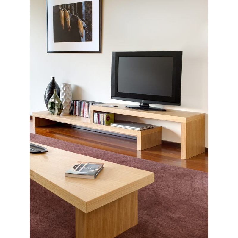 temahome meuble tv cliff 180cm ch ne. Black Bedroom Furniture Sets. Home Design Ideas