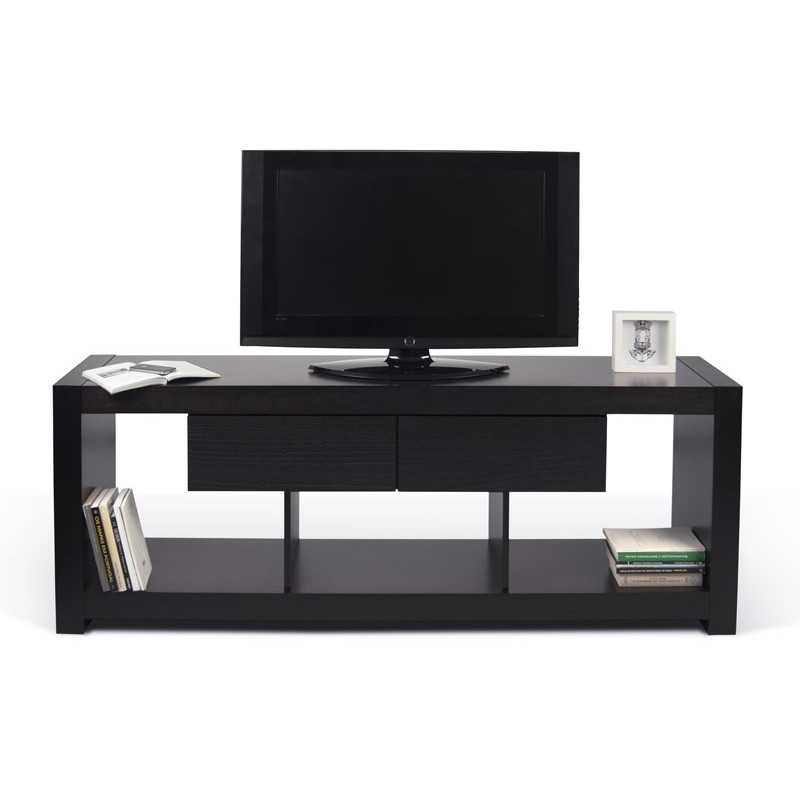 Temahome meuble tv nara 174 cm wenge for Meuble tv wenge