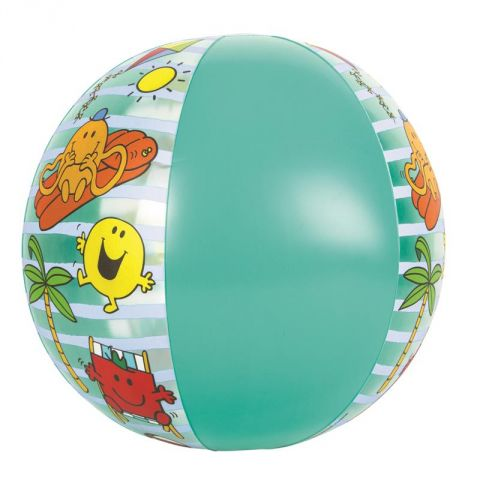 "Ballon Gonflable ""Monsieur & Madame®"" 50cm Bleu"