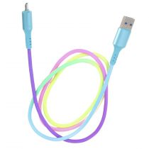 "Câble Micro USB ""Rainbow"" 100cm Multicolore"
