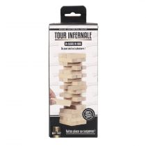 "Jeu de Construction ""Tour Infernale"" 5cm Naturel"