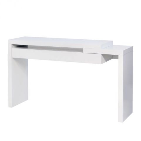 """TemaHome - Console """"Reef"""" Blanc Mat"""