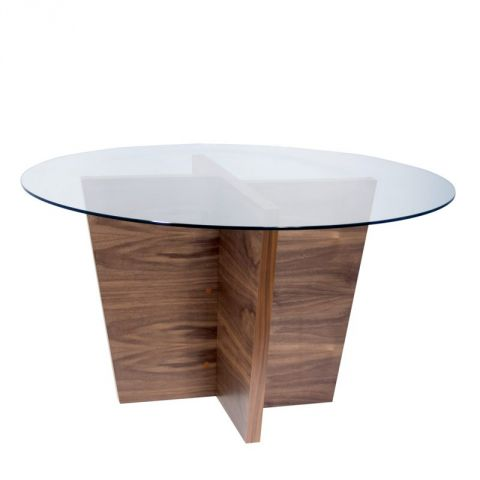 "TemaHome - Table Repas ""Oliva"" Noyer"