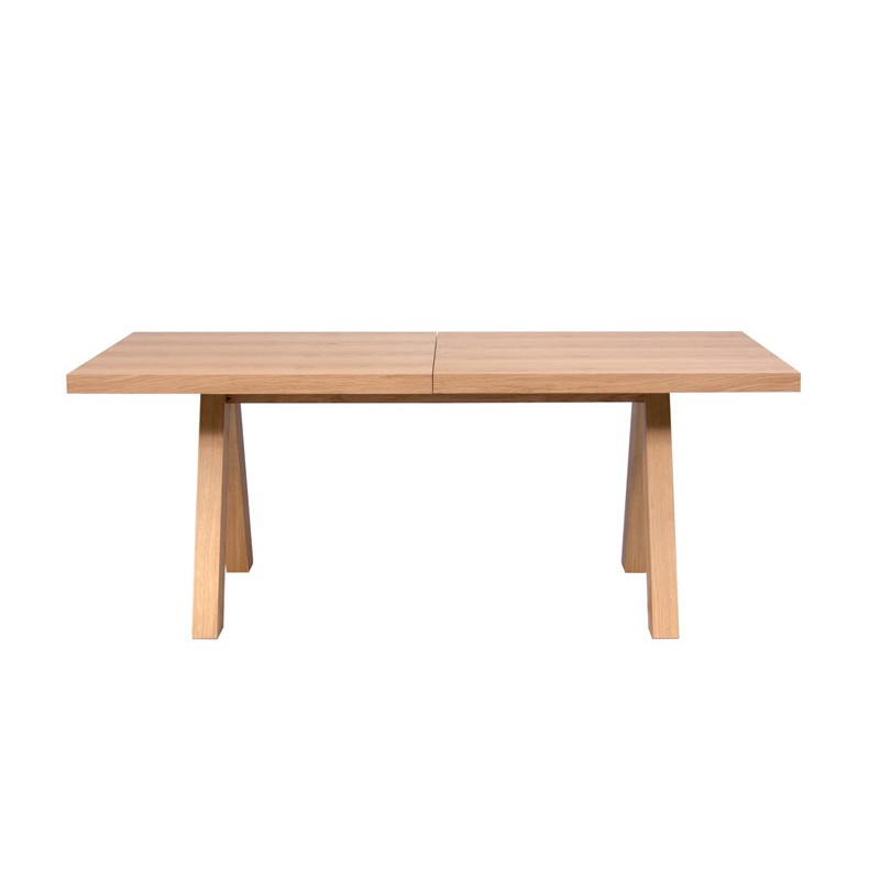 Temahome table repas extensible apex 200 250cm ch ne for Table extensible 350 cm