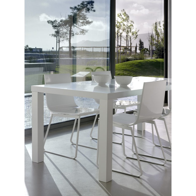 Temahome table de repas multi 160cm blanc mat for Table de multi
