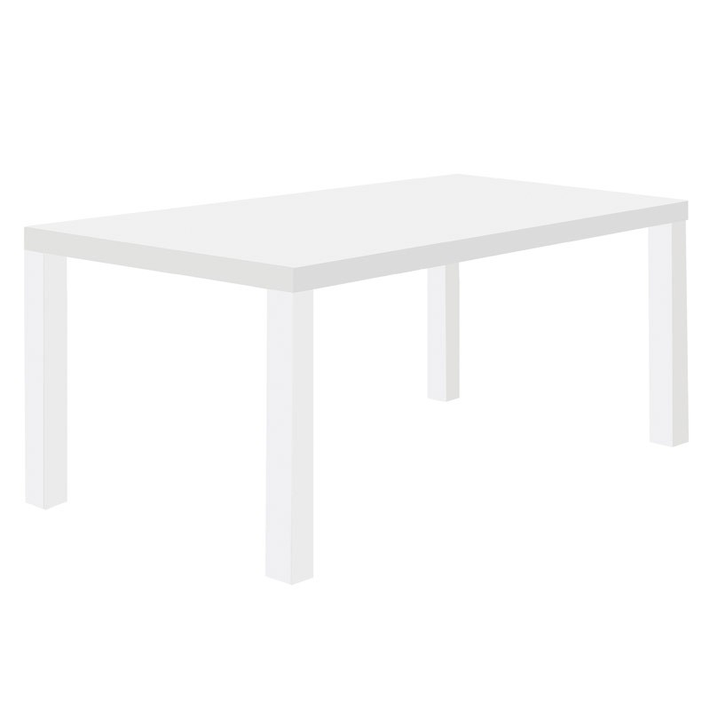Temahome table de repas multi 160cm blanc mat for Table blanc mat