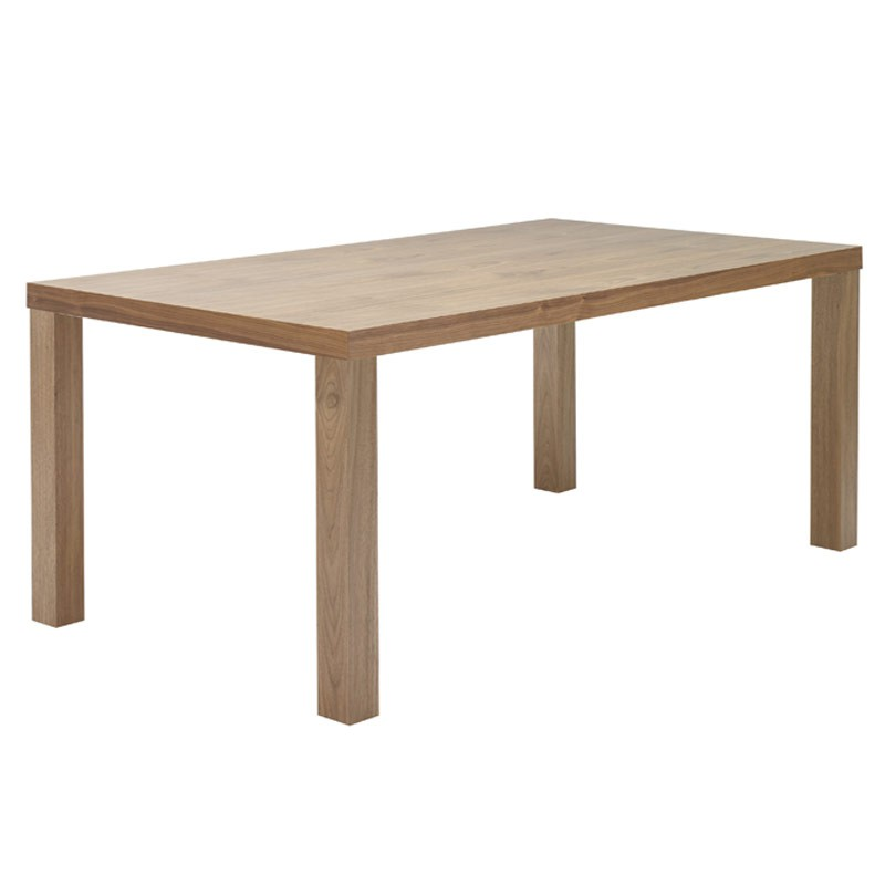 Temahome table de repas multi 160cm noyer for Table de multi