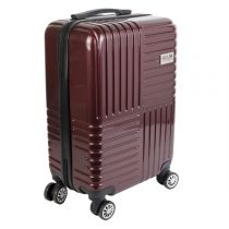 "Valise Cabine Design ""Madrid"" 35L Rouge"