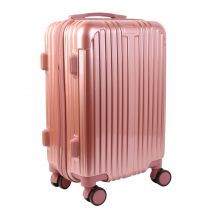 "Valise Cabine Design ""Paris"" 40L Rose"