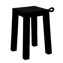 "TemaHome - Tabouret Design ""Handle"" Noir"