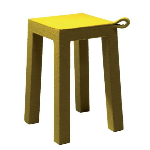 "TemaHome - Tabouret Design ""Handle"" Jaune"