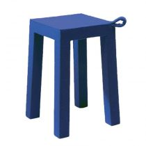 "TemaHome - Tabouret Design ""Handle"" Bleu"