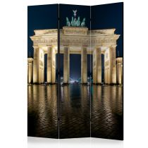 "Paravent 3 Volets ""Berlin at Night"" 135x172cm"