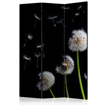 """Paravent 3 Volets """"Dandelions in the Wind"""" 135x172cm"""