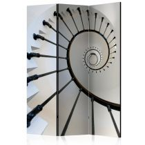 """Paravent 3 Volets """"Stairs Lighthouse"""" 135x172cm"""