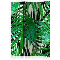 "Paravent 3 Volets ""Tropical Leaves"" 135x172cm"