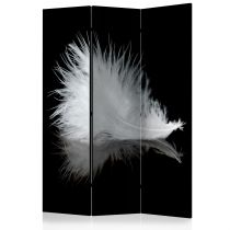"Paravent 3 Volets ""White Feather"" 135x172cm"