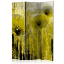 "Paravent 3 Volets ""Yellow Madness"" 135x172cm"