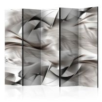 "Paravent 5 Volets ""Abstract Braid"" 172x225cm"