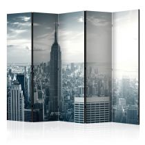 "Paravent 5 Volets ""Amazing View To New York Manhattan at Sunrise"" 172x225cm"