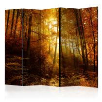 "Paravent 5 Volets ""Autumn Illumination"" 172x225cm"