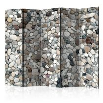 "Paravent 5 Volets ""Beach Pebbles"" 172x225cm"
