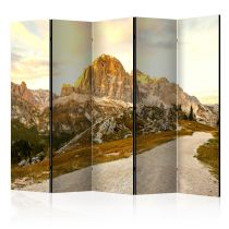 "Paravent 5 Volets ""Beautiful Dolomites"" 172x225cm"