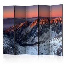 "Paravent 5 Volets ""Beautiful Sunrise in the Rocky Mountains"" 172x225cm"