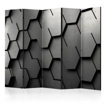 "Paravent 5 Volets ""Black Gate"" 172x225cm"