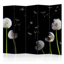 "Paravent 5 Volets ""Dandelions in the Wind"" 172x225cm"