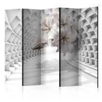 """Paravent 5 Volets """"Flowers in the Tunnel"""" 172x225cm"""