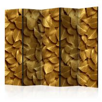 "Paravent 5 Volets ""Golden Leaves"" 172x225cm"