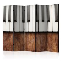 "Paravent 5 Volets ""Inspired By Chopin Mahogany"" 172x225cm"