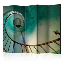 """Paravent 5 Volets """"Lighthouse Stairs"""" 172x225cm"""