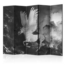 "Paravent 5 Volets ""Pegasus on the Way To Mount Olympus"" 172x225cm"