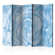 "Paravent 5 Volets ""Rose Blue"" 172x225cm"