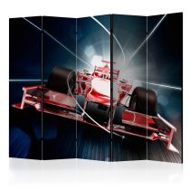 "Paravent 5 Volets ""Speed & Dynamics of Formula 1"" 172x225cm"