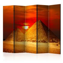 "Paravent 5 Volets ""The Giza Necropolis Sunset"" 172x225cm"