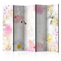 """Paravent 5 Volets """"The Smell of Spring Flowers"""" 172x225cm"""