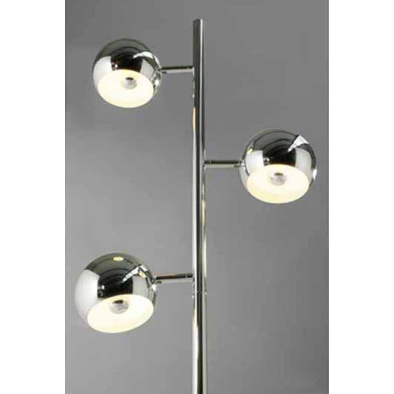Lampadaire Trio Chrome