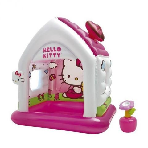 """Maison Gonflable """"Hello Kitty"""" Rose"""