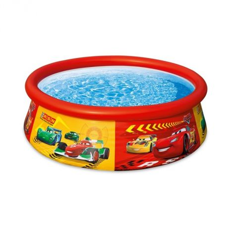 "Piscine Gonflable ""Disney Cars"" Rouge"