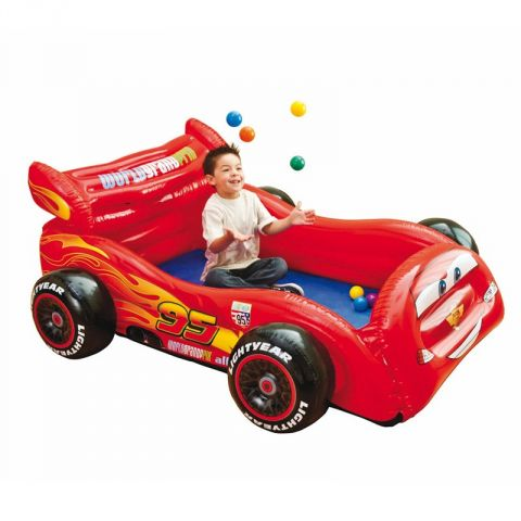 "Piscine à Balles ""Disney Cars"" Rouge"