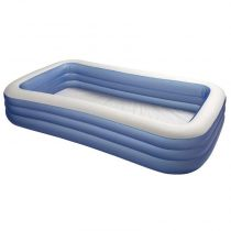 Piscine Gonflable Rectangulaire Bleu